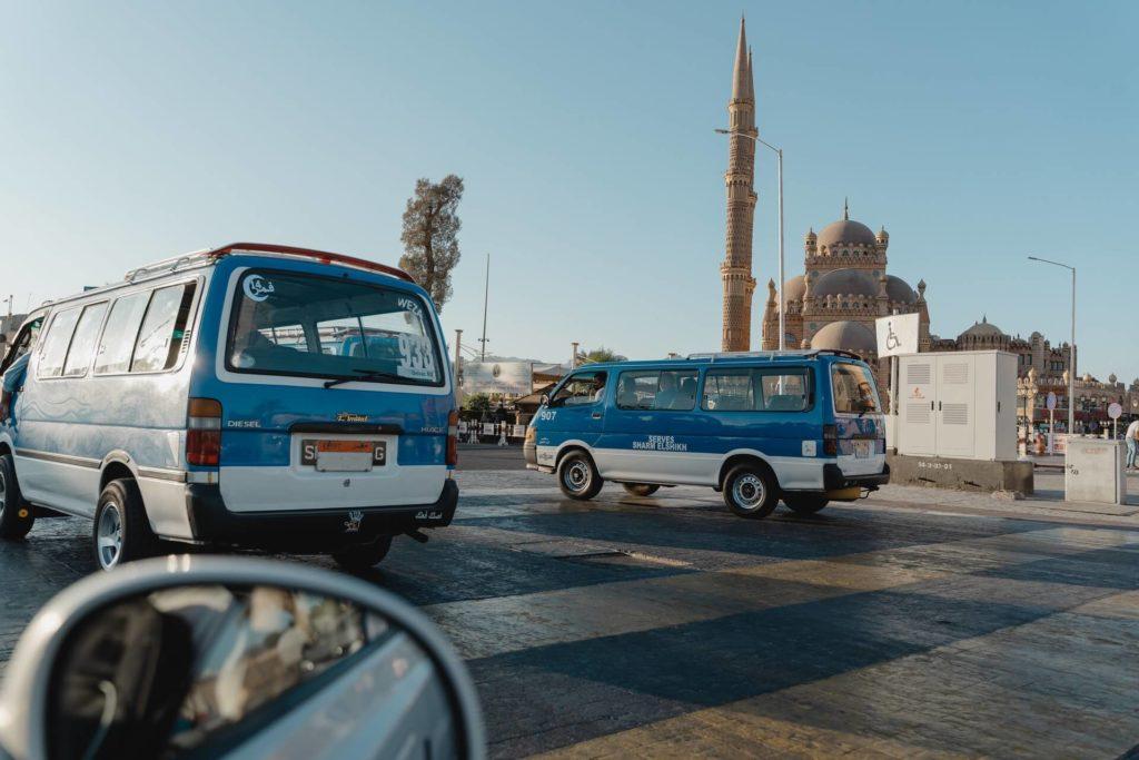 problèmes de mobilité urbaine en Égypte